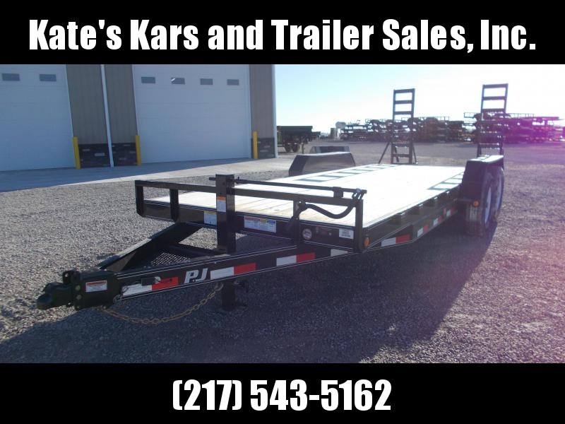 *NEW* PJ Trailers 20' Equipment Trailer 14K LB Flatbed Trailer