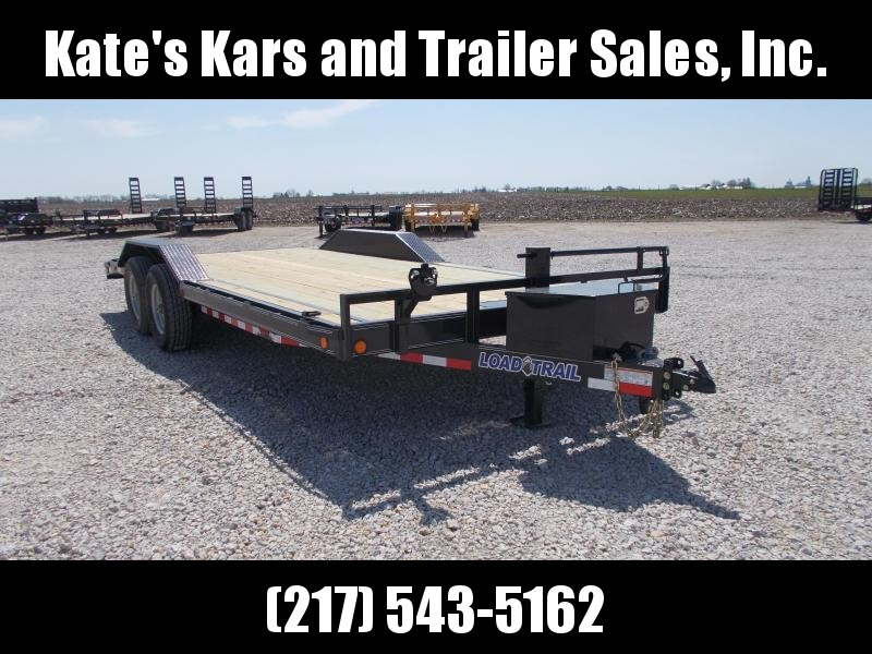 JEEP HAULER Load Trail 102X20' Equipment Buggy Flatbed Trailer