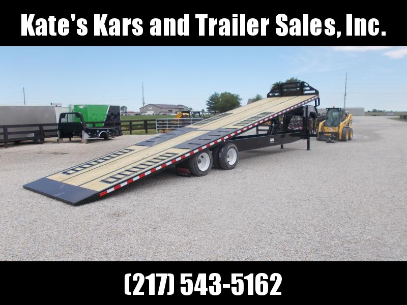 *NEW* Midsota 36' Ft Power Tilt Gooseneck Flatbed Trailer 25900 LB GVWR Container Trailer