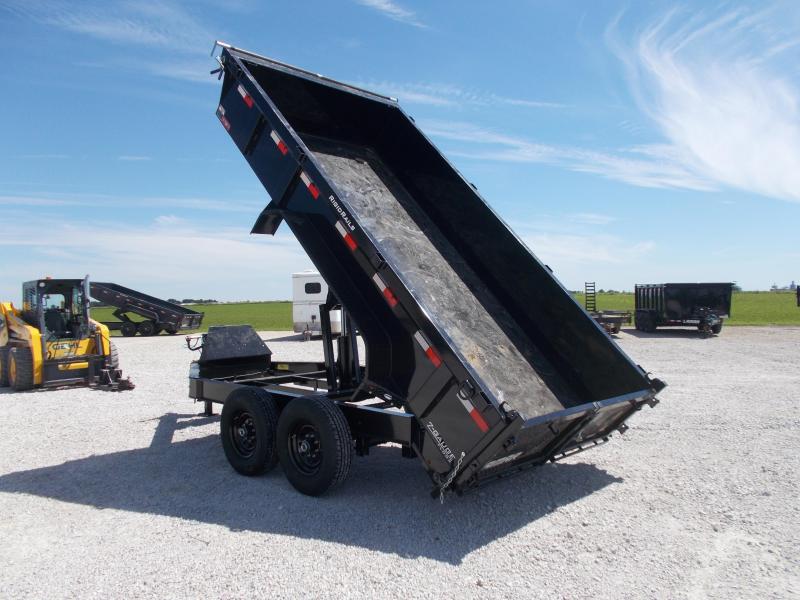 2019 Lamar Trailers 83X14 Heavy Duty 14K Dump Trailer