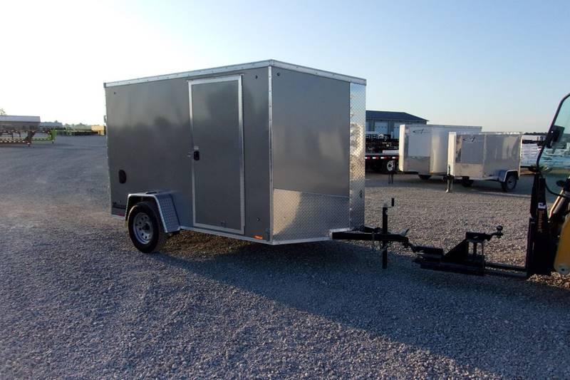 *NEW* Cargo Express 6X10' smooth sides enclosed Trailer
