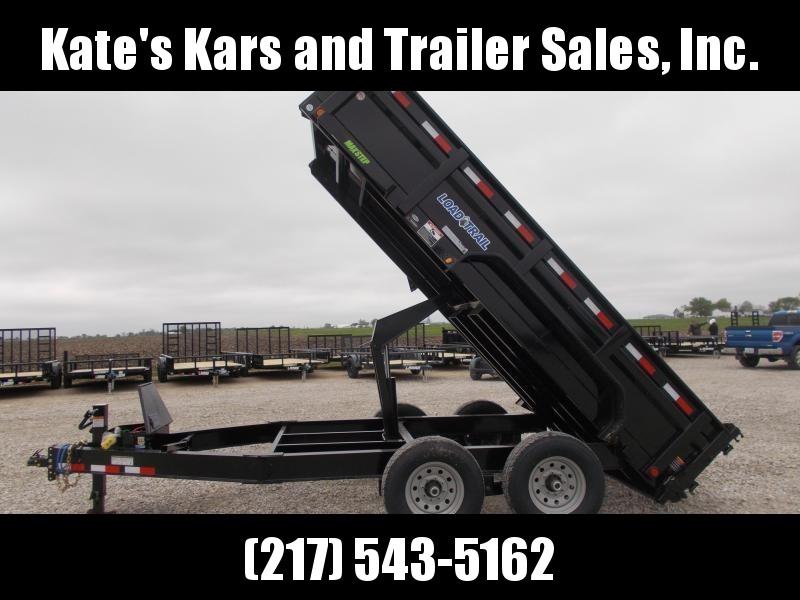 "14000 LB GVWR Load Trail 83""x14' Dump Trailer w/ tarp"