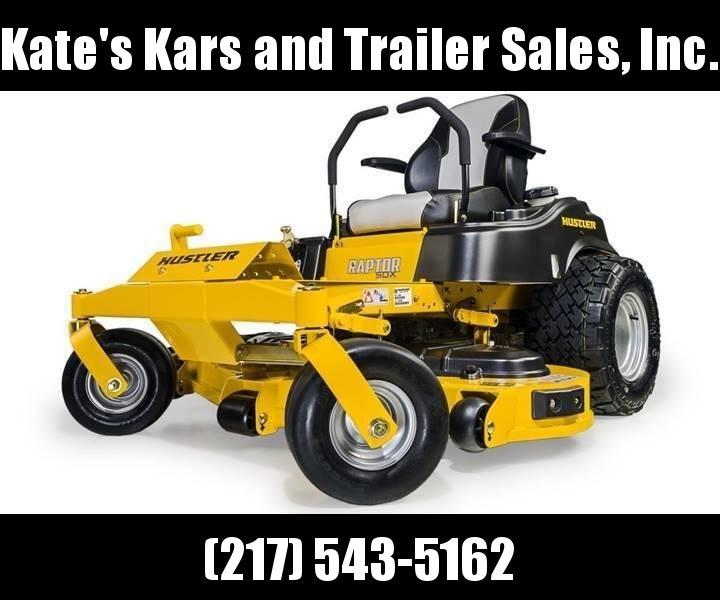 """*NEW* 2019 Hustler Raptor SDX 54"""" zero turn mower Lawn mower for sale"""