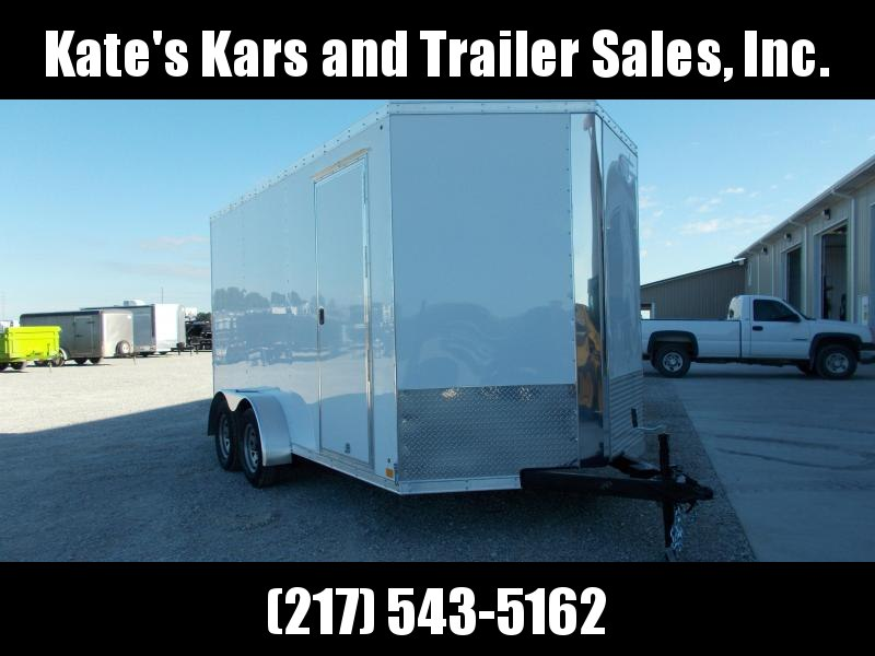 Cross 7X14' 12 IN ADD Height Enclosed Cargo Trailer in Ashburn, VA