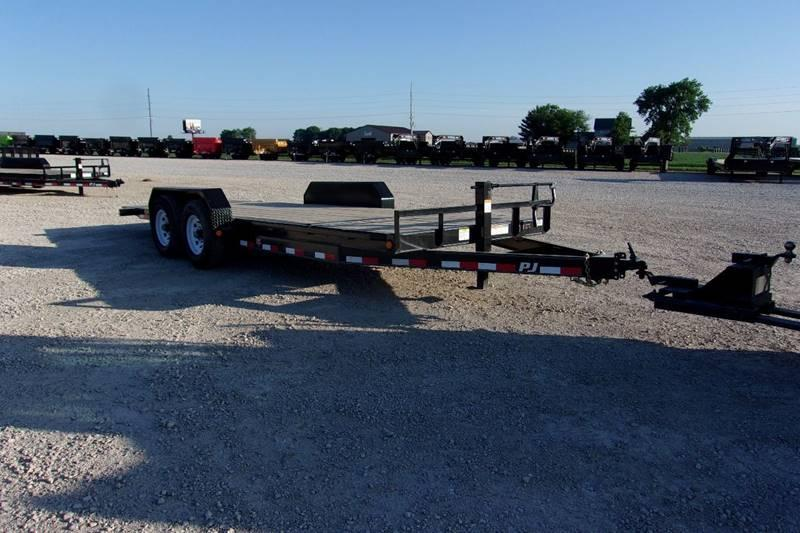 Best deal in illinois!!! PJ Trailers 4+16 Partial Tilt 14000 LB GVWR trailer