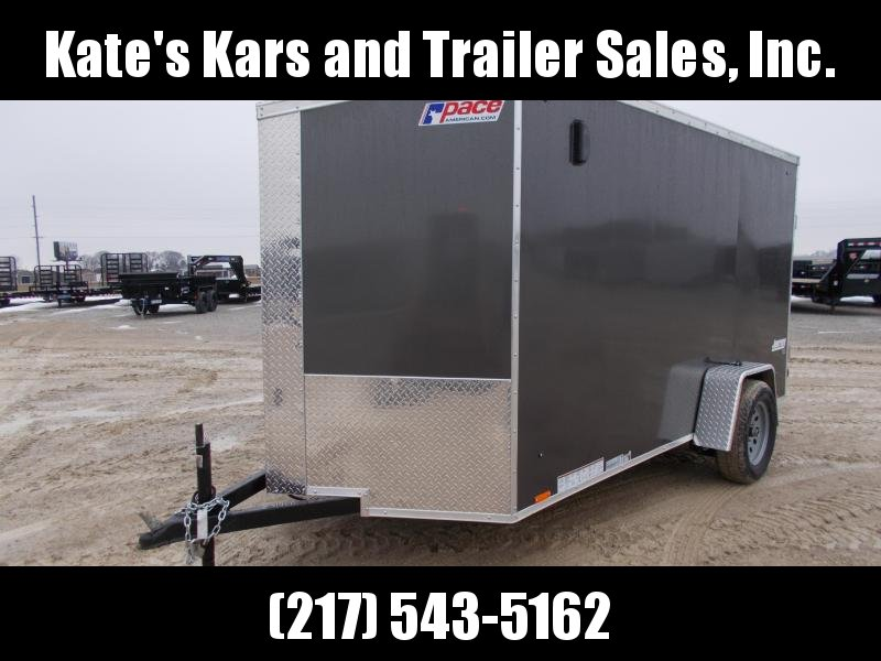 *NEW* Pace 6X12' Screwless Sides cargo Trailer Enclosed Cargo Trailer
