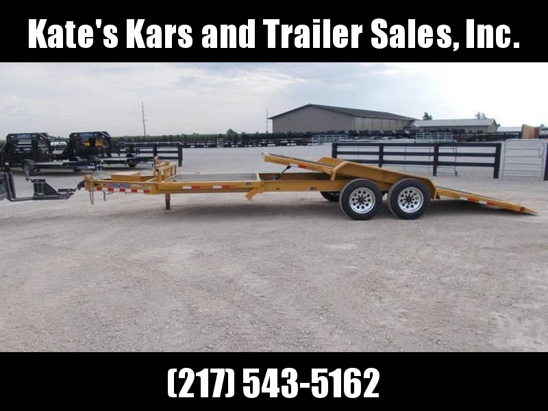 2018 Load Trail 22' Partial Tilt Bobcat TH8322082 Equipment Trailer