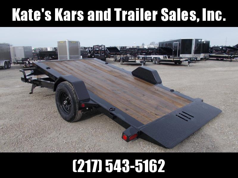 *NEW* Load Trail 15' Tilt Equipment Trailer Single Axle 7K LB
