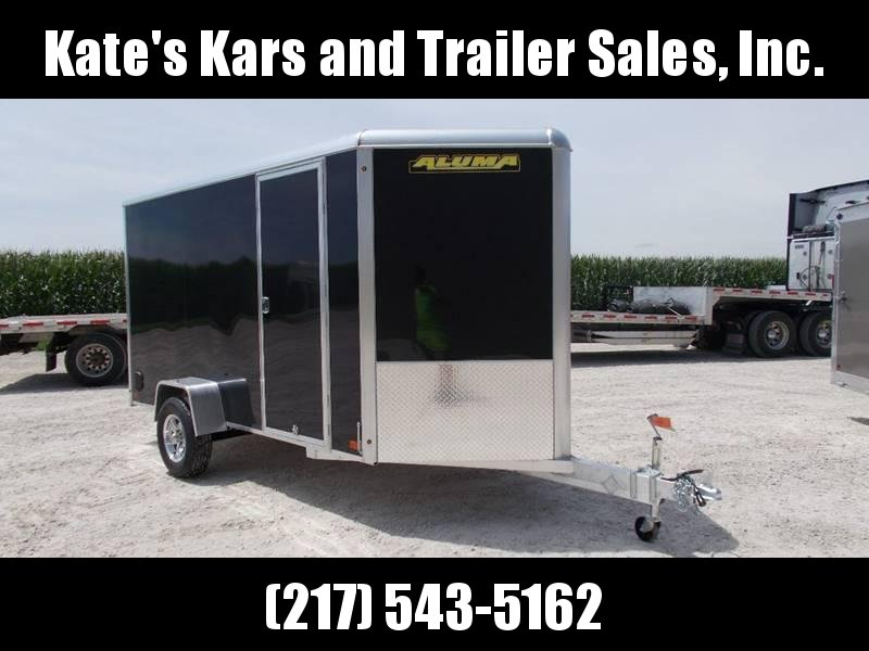 *NEW* Aluma 6X12' Extra Tall Aluminum Enclosed Cargo Trailer