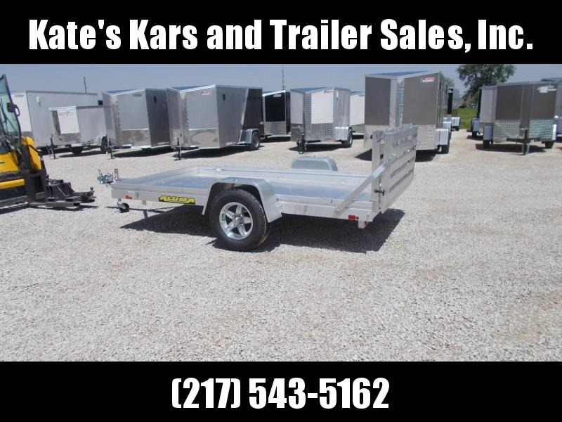*NEW* Aluma 6810 ALUMINUM 10' Utility Trailer for sale