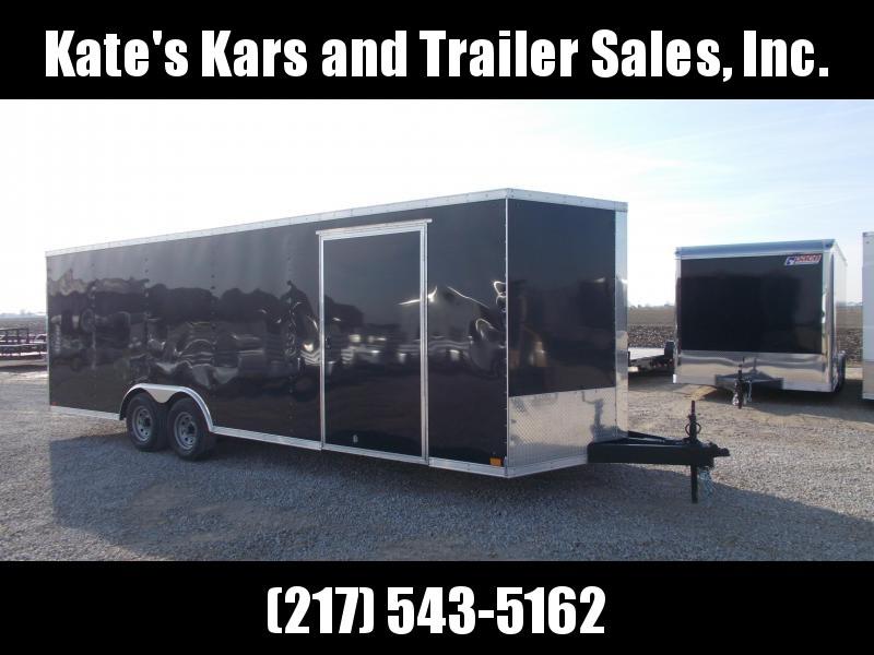 *NEW*  Cross Trailers 8.5X24' Heavy Duty 9990 LB GVWR Enclosed Cargo Trailer Construction