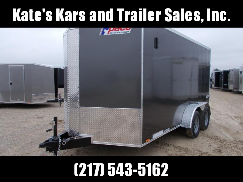 *NEW* 2019 Pace Extra Tall 7X14' Enclosed Cargo Trailer