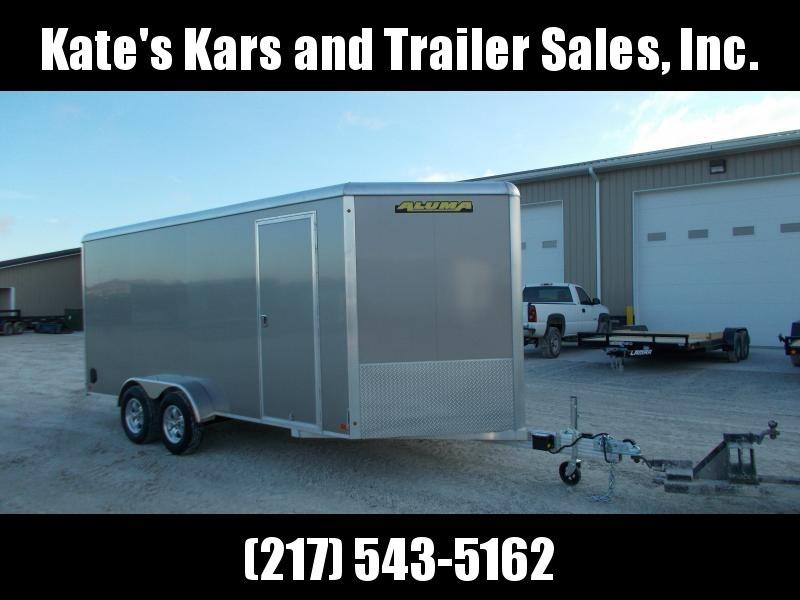 BEST TRAILER AROUND!!! Aluma 7X16' Extra Tall Aluminum Enclosed Cargo Trailer in Ashburn, VA