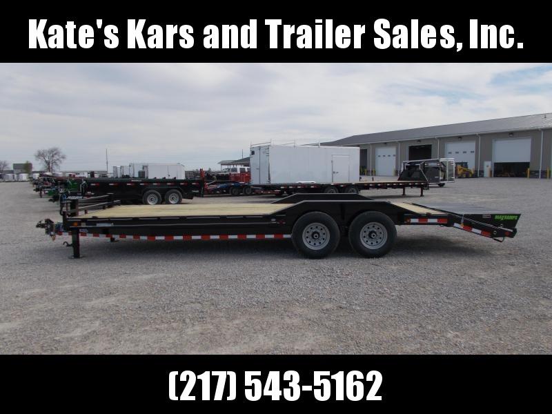 "DRIVE OVER FENDER Load Trail 102""X24' Equipment Trailer Flatbed buggy hauler"