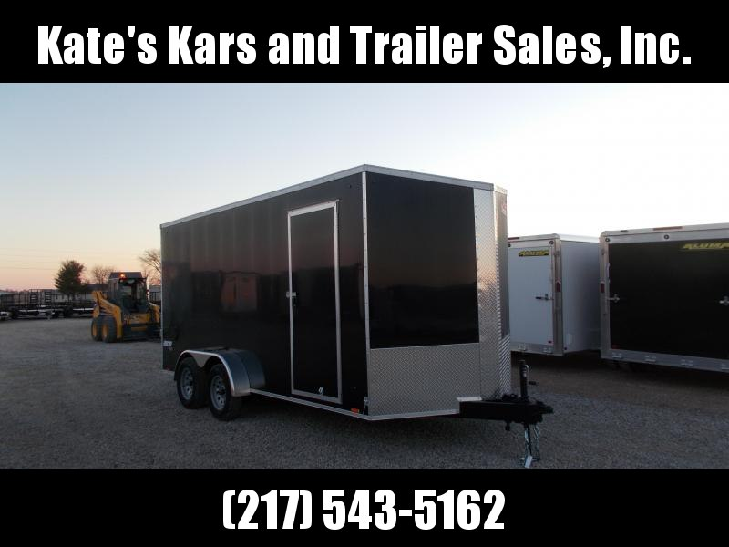 2020 Pace American 7X16' Screwless Sides Enclosed Cargo Trailer