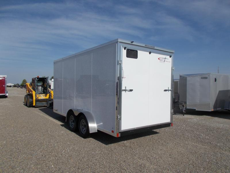 """*NEW* Cross 7X16' Screwless sides 12"""" Additional Height Enclosed Cargo Trailer"""