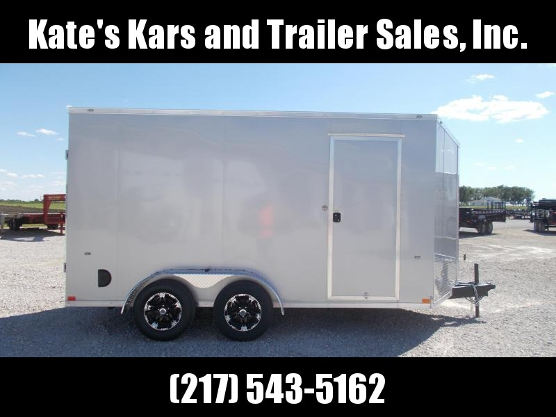 "*NEW* Formula 12"" Additional Height Aluminum Wheel Upgrade 7X14' Enclosed Cargo Trailer"