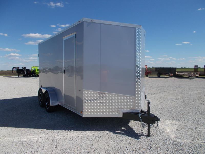 "*NEW* Formula 12"" Additional Height Aluminum Wheel Upgrade 7X14' Enclosed Cargo Trailer"