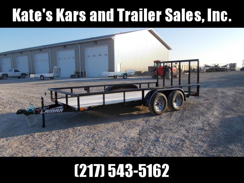 *NEW* Lamar Trailers 83X16' Tandem Axle utility trailer