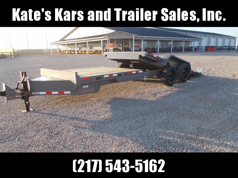 22000 LB Midsota 83X24' Tilt Trailer Equipment Trailer