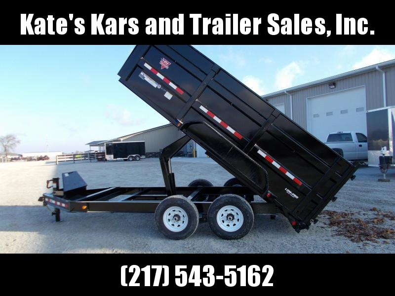 "*NEW* PJ 83X14' 36"" Tall High Side Dump Trailer 14K LB"