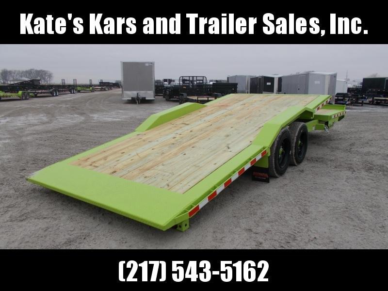*NEW* Midsota 102x24' Wide Body tilt 17600 LB GVWR Equipment Trailer