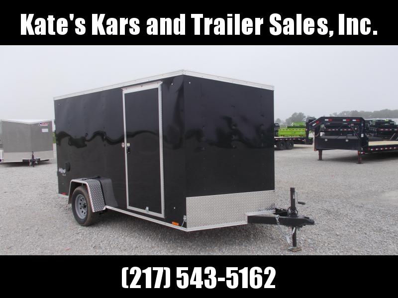 *NEW* Pace BLACK 7X12' Single Axle Enclosed Cargo Trailer in Ashburn, VA