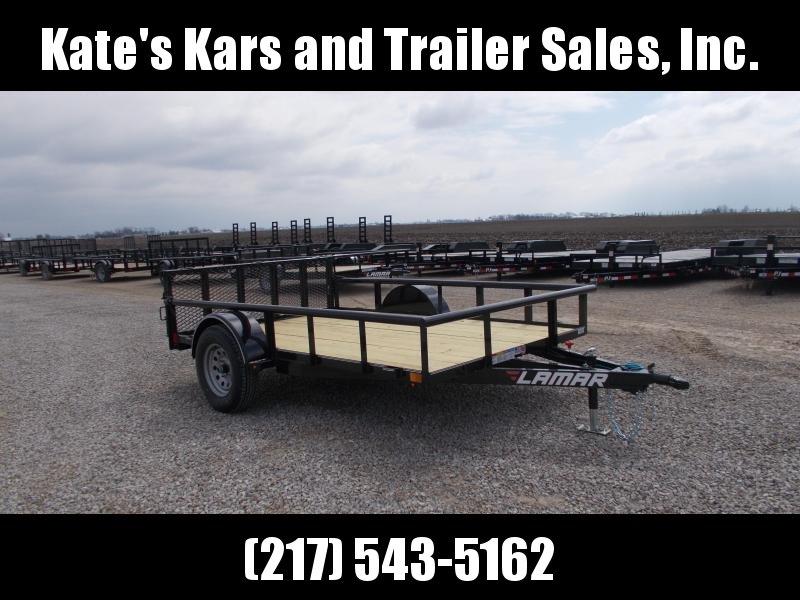 2019 Lamar Trailers 10' ATV Trailer Bi Fold Gate Utility Trailer in Ashburn, VA