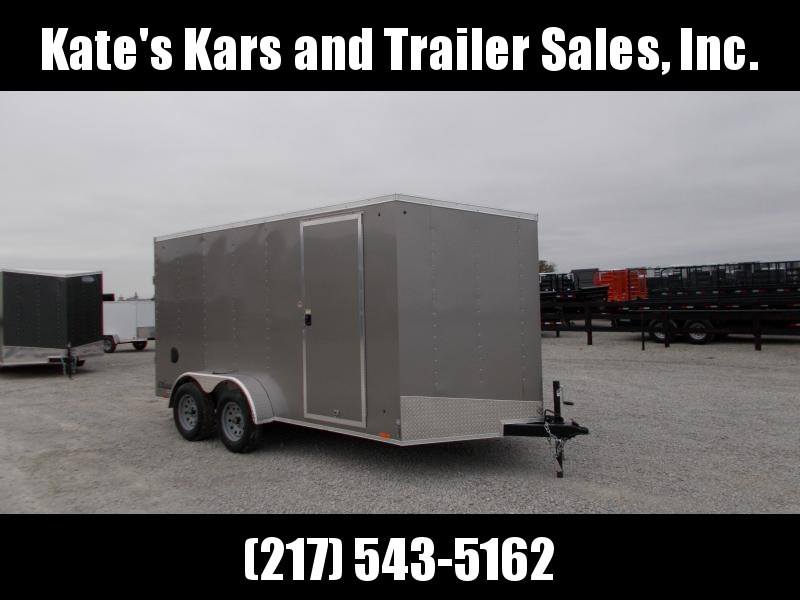*NEW* Cargo Express 7X14' Enclosed Cargo Trailer Extra Tall