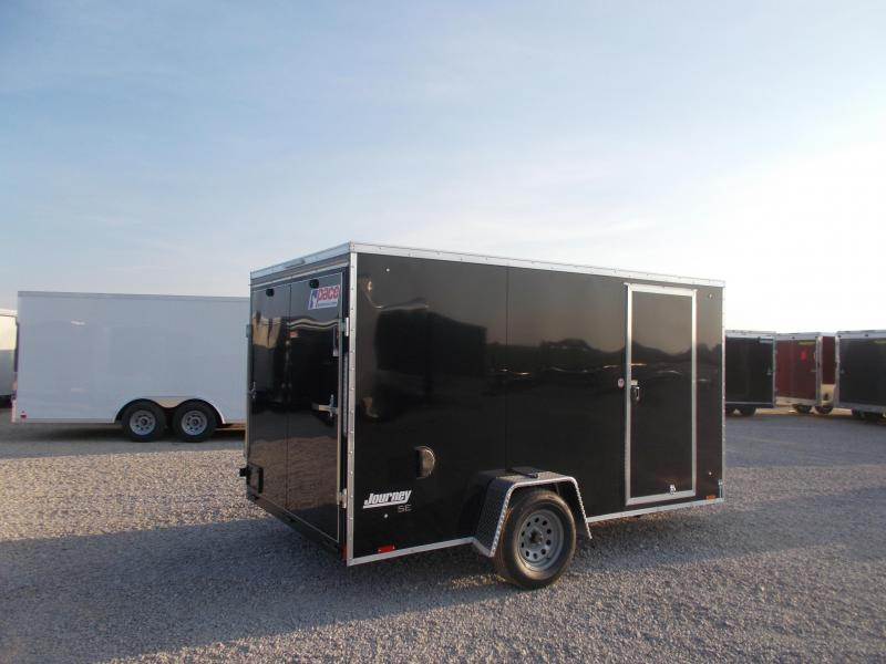 2020 Pace American 7X12 Screwless Sides Single Axle Enclosed Cargo Trailer