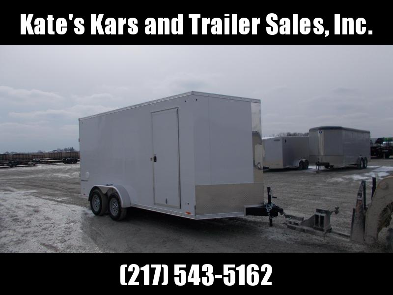 2020 Pace American 7X16' Extra Tall HD Enclosed Trailer Enclosed Cargo Trailer