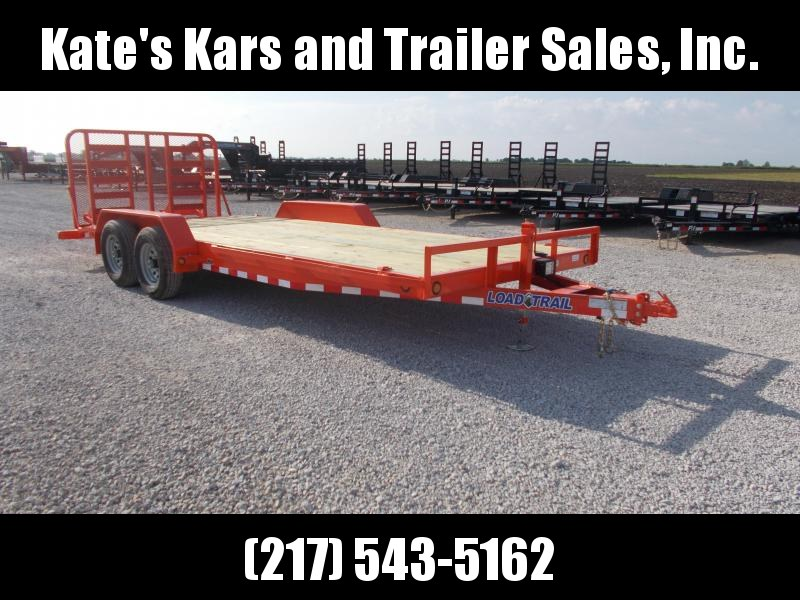 CHECK IT OUT! Load Trail 83X20' 9990 GVWR Equipment Trailer