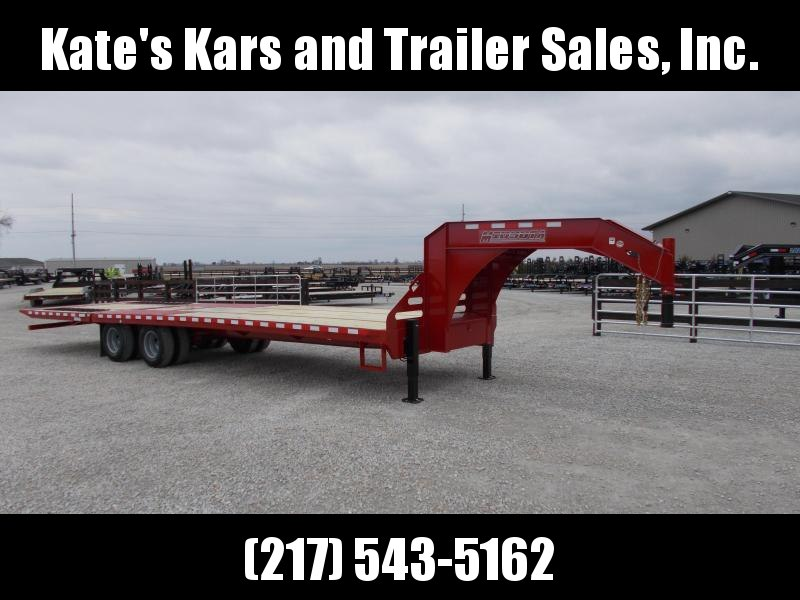 2019 Midsota 102x32' Hydraulic Dovetail Hydro Jacks Flatbed Trailer