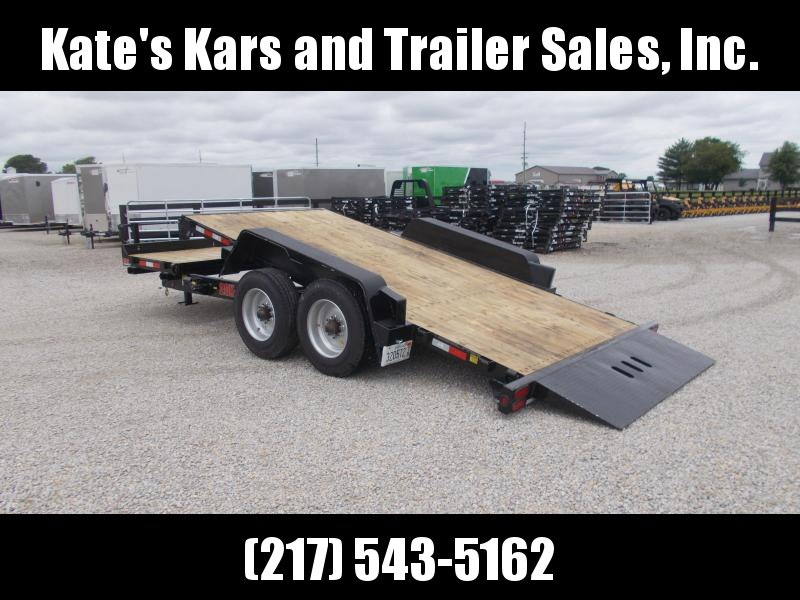 USED !! 2019 B-B 83x20' Tilt 20000 LB GVWR Equipment Trailer