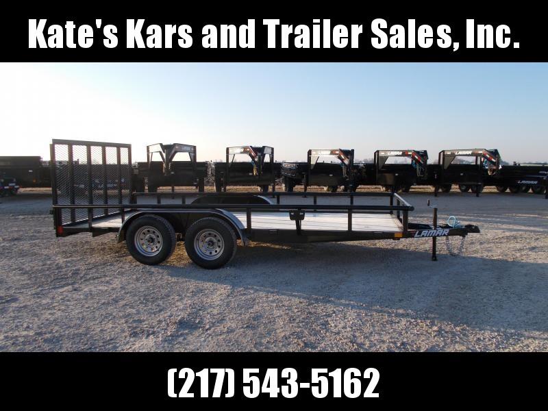 *NEW* Lamar 83X16' Tandem Axle Utility Trailer 7K LB