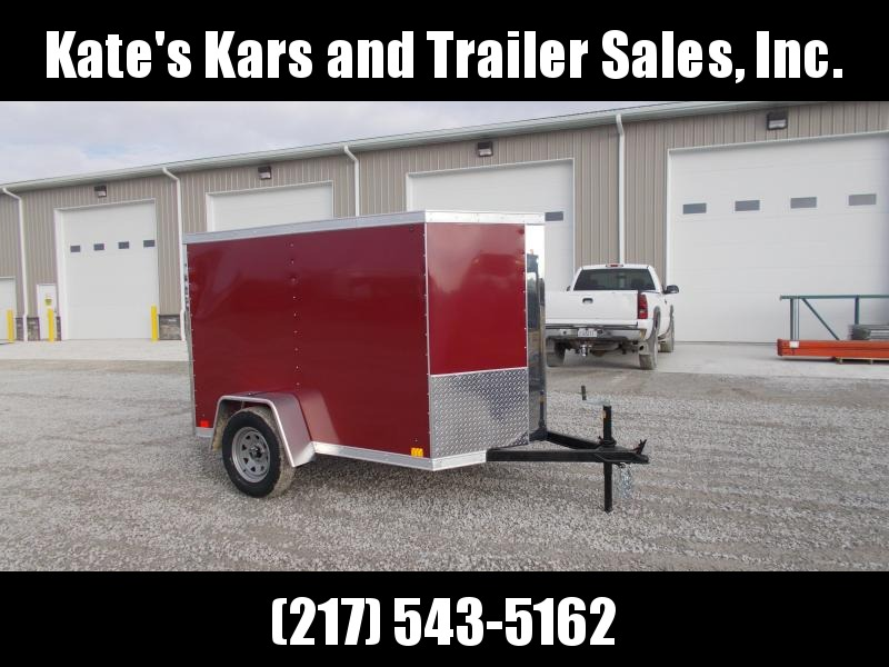 *NEW* Cross Trailers 5X8 Enclosed Cargo Trailer