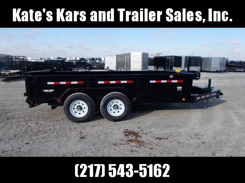 *NEW* PJ 14' Dump Trailer 14000 LB GVWR LOW PRO