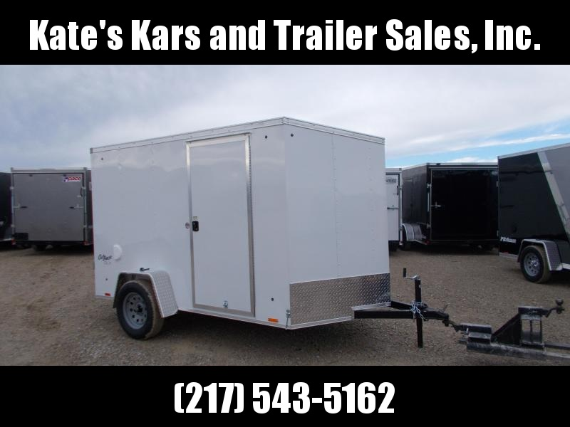 *NEW* Pace American 6X10' Enclosed Cargo Trailer with ramp door