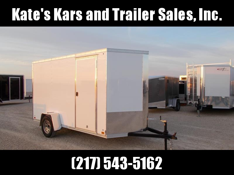 2019 Cross Trailers Extra Tall 6X12 enclosed cargo trailer Heavy Duty
