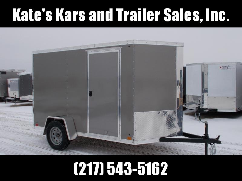 *NEW* Cross 6x10' Enclosed Cargo Trailer