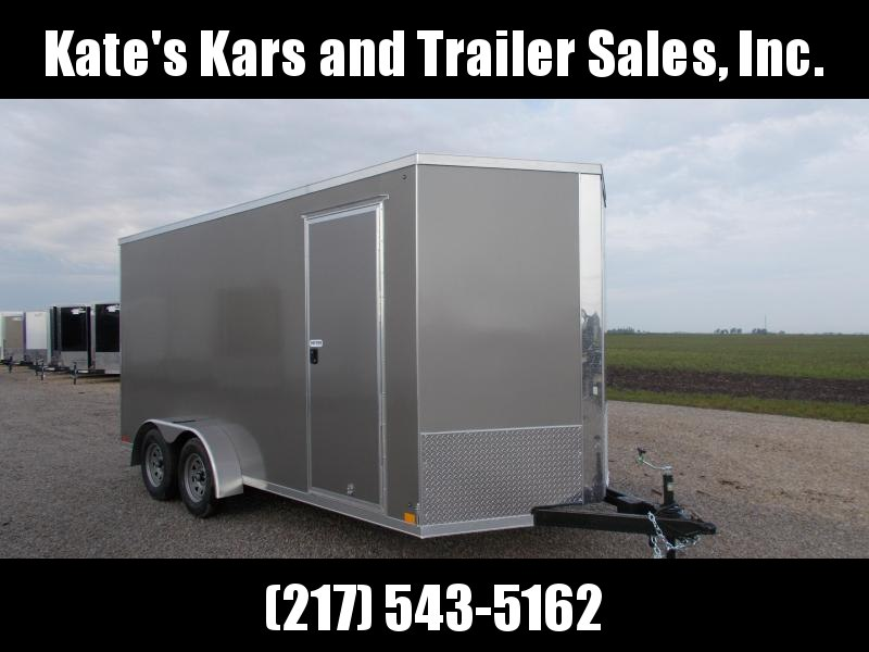 "*NEW** Cross Trailers 7X16' Extra 12"" Height UTV Enclosed Cargo Trailer"