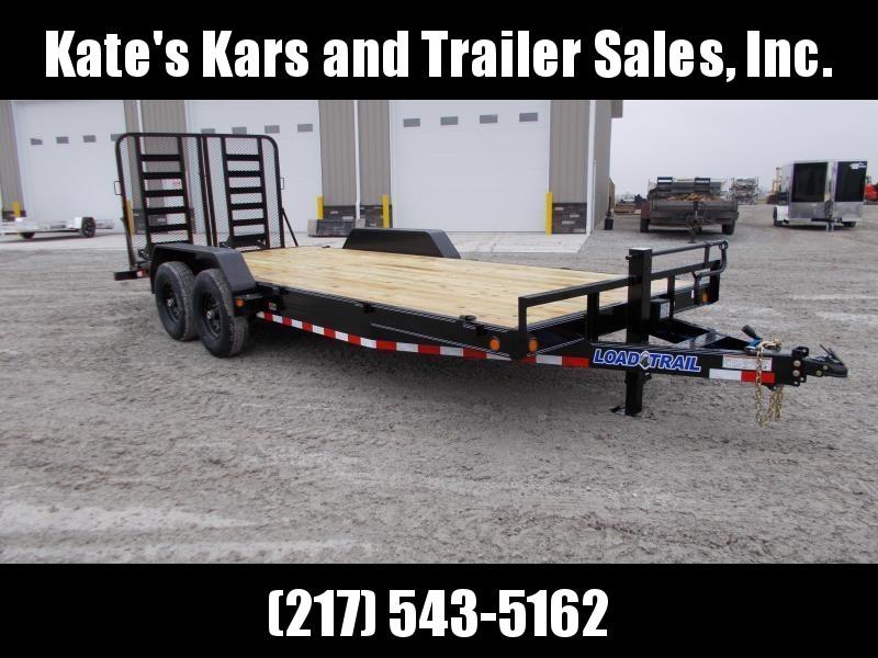 *NEW* Load Trail 83x20' Equipment Trailer 14K LB HD SPLIT GATE