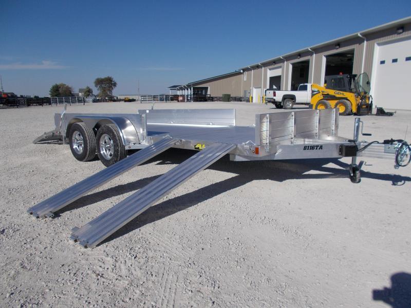 *NEW* Aluma 8116TASR ATV Trailer 16' Aluminum Flatbed