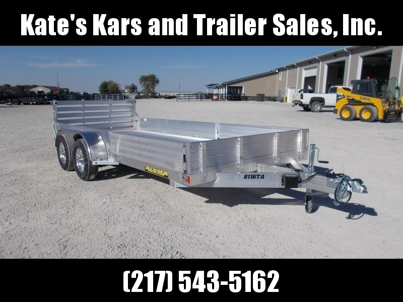 *NEW* Aluma 8116TASR ATV Trailer 16' Aluminum Flatbed in Ashburn, VA