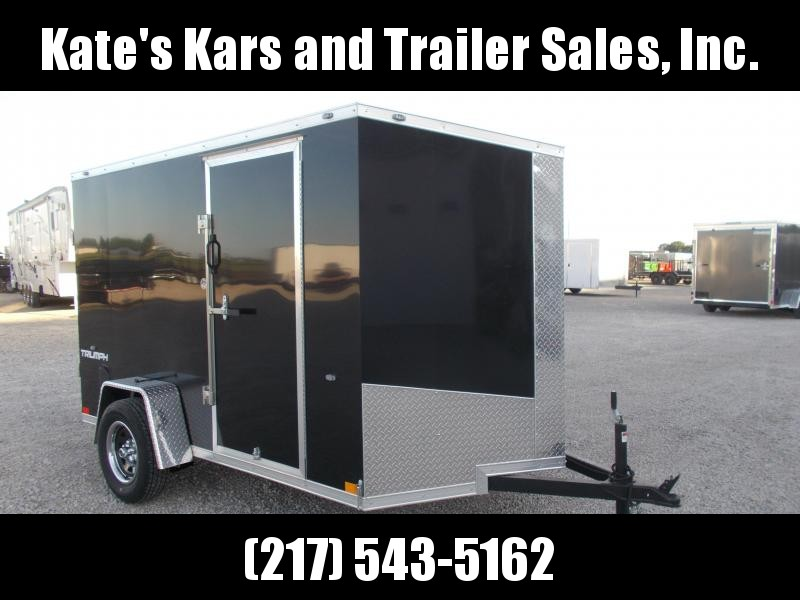 CHECK THIS OUT! Formula Screwless Sides 6X10' Enclosed Cargo Trailer
