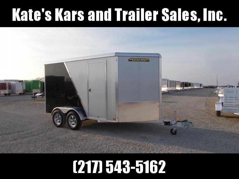 *NEW* Aluma 7X12' Tandem axle Aluminum Enclosed Cargo Trailer in Ashburn, VA