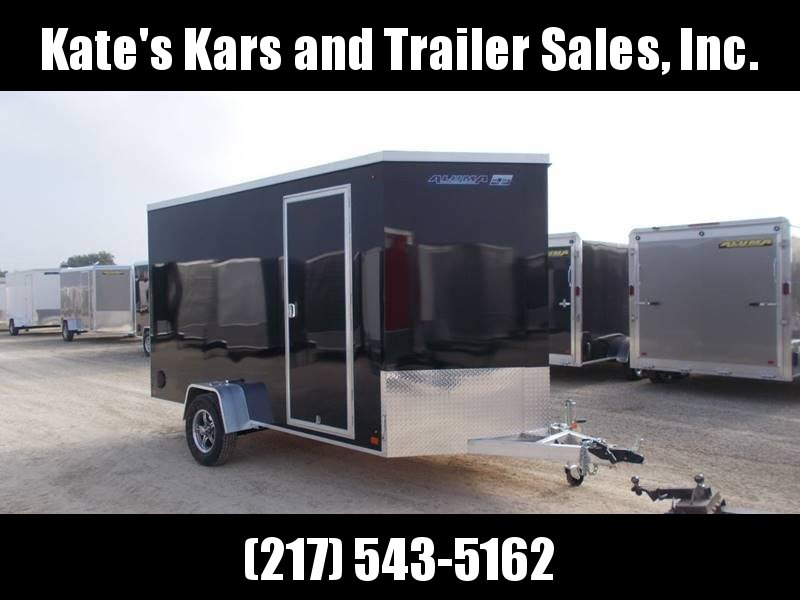 2019 Aluma esw612R Aluminum 6x12 Enclosed Cargo Trailer EXTRA HEIGHT