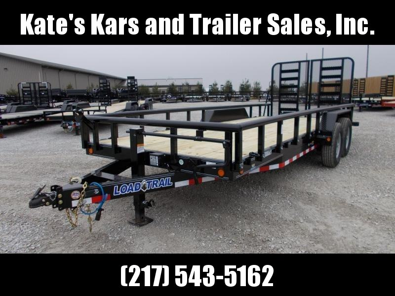 *NEW*  Load Trail CS14 83x20' Removable sides flatbed trailer 14K LB GVWR