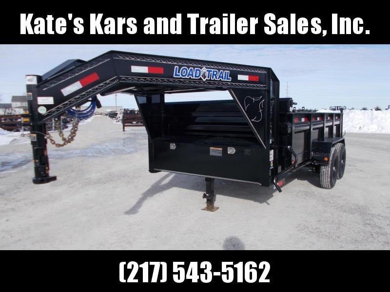 *NEW* Load Trail Gooseneck 83x14' dump trailer GD8314072 GD14