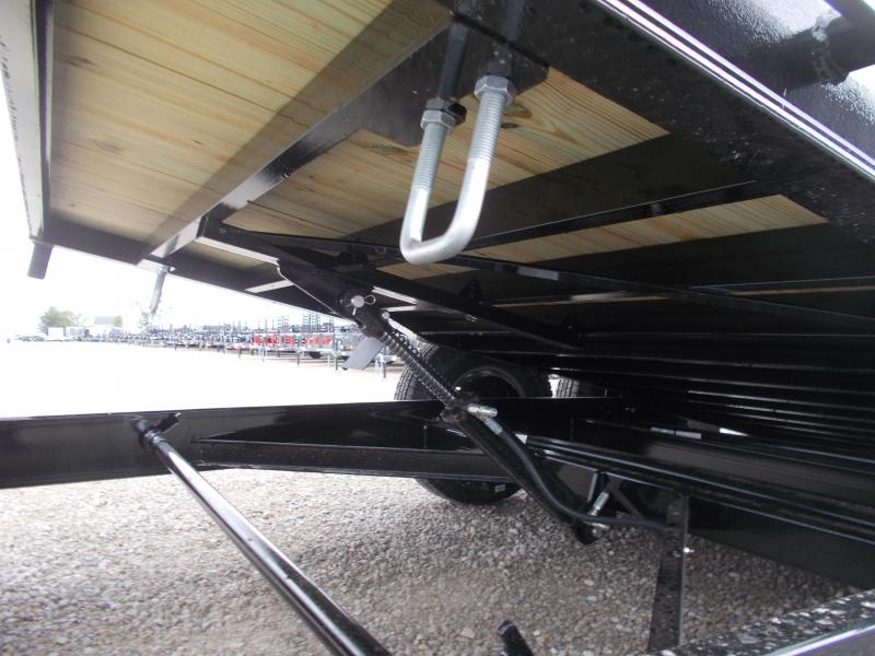 14000 LB  B-B 20' Tilt Bed Trailer Behnke Enterprises Flatbed HD